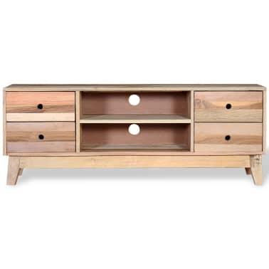 vidaXL Comodă TV din lemn reciclat de esență tare[6/9]