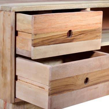 vidaXL Comodă TV din lemn reciclat de esență tare[8/9]