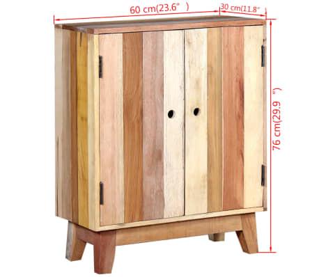 vidaXL Komoda iš perdirbtos medienos[9/9]