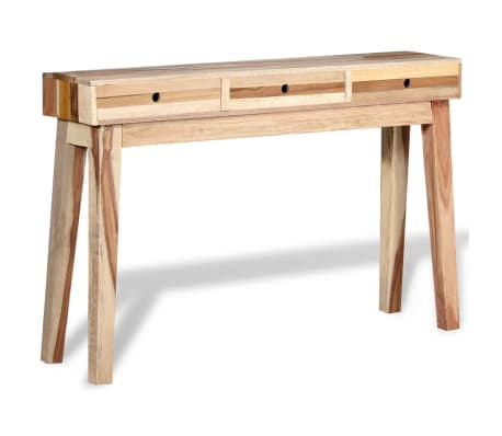 vidaXL Console Table Solid Reclaimed Wood[1/8]