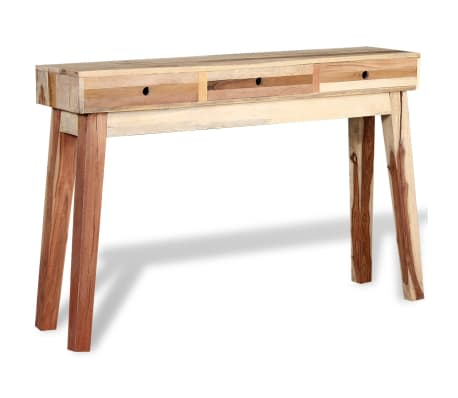 vidaXL Console Table Solid Reclaimed Wood[3/8]