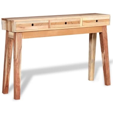 vidaXL Console Table Solid Reclaimed Wood[2/8]