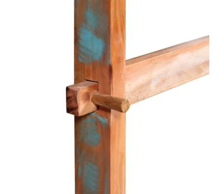 Vidaxl tavolo pranzo in legno massello anticato 120x58x78 for Tavola da pranzo in legno