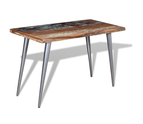 "vidaXL Dining Table Solid Reclaimed Wood 47.2""x23.6""x30""[2/9]"
