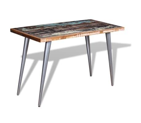 vidaxl esstisch recyceltes massivholz 120 x 60 x 76 cm im vidaxl trendshop. Black Bedroom Furniture Sets. Home Design Ideas