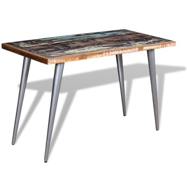 "vidaXL Dining Table Solid Reclaimed Wood 47.2""x23.6""x30""[3/9]"