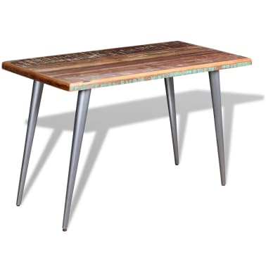 "vidaXL Dining Table Solid Reclaimed Wood 47.2""x23.6""x30""[4/9]"