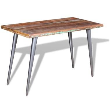 "vidaXL Dining Table Solid Reclaimed Wood 47.2""x23.6""x30""[5/9]"