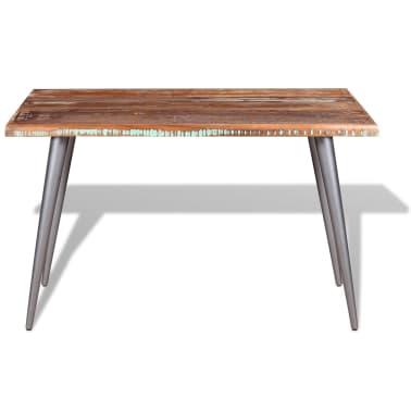 "vidaXL Dining Table Solid Reclaimed Wood 47.2""x23.6""x30""[6/9]"