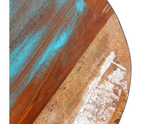 "vidaXL Aviator Stool Solid Reclaimed Wood 14.2""x17.3""[6/8]"