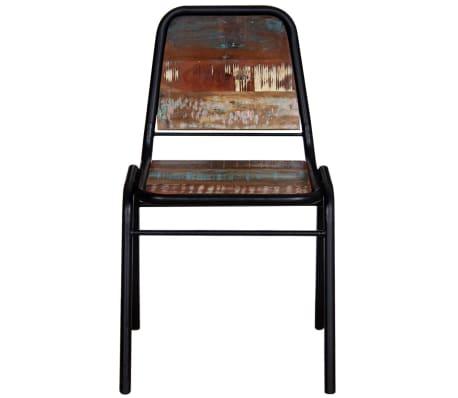 "vidaXL Dining Chairs 2 pcs Solid Reclaimed Wood 17.3""x23.2""x35""[6/8]"