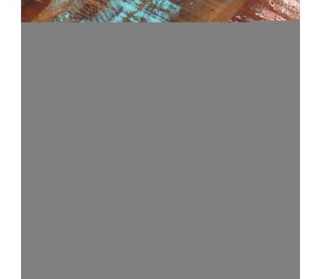 "vidaXL Dining Chairs 2 pcs Solid Reclaimed Wood 17.3""x23.2""x35""[7/8]"