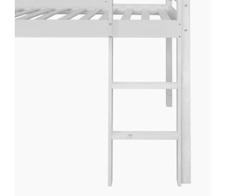 acheter vidaxl lit mezzanine pour enfants avec toboggan et chelle bois rose pas cher. Black Bedroom Furniture Sets. Home Design Ideas