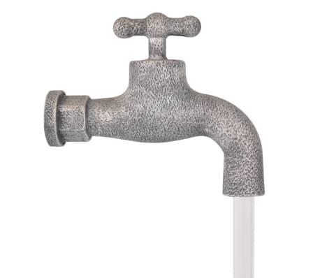 vidaXL Decor cu apă curgătoare, robinet și găleți, polirășină[4/6]