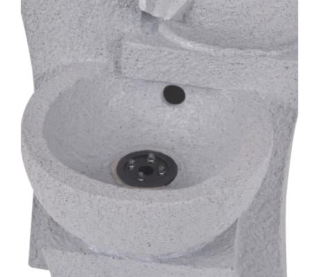 vidaXL Interiérová fontána s LED osvětlením, polyresin[5/6]