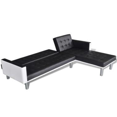 vidaXL Canapé-lit d