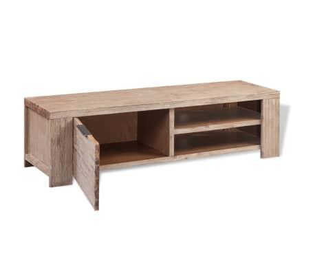 "vidaXL TV Cabinet Solid Brushed Acacia Wood 55""x15""x15.7""[4/9]"