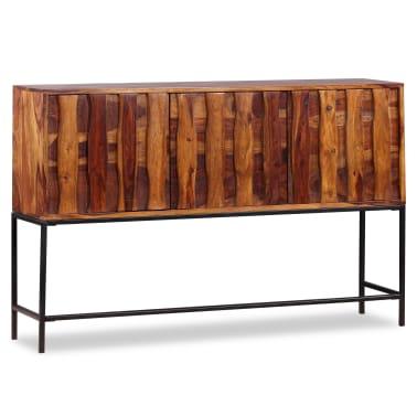 vidaXL Sideboard Sheesham-Holz Massiv 120 x 30 x 80 cm[1/12]