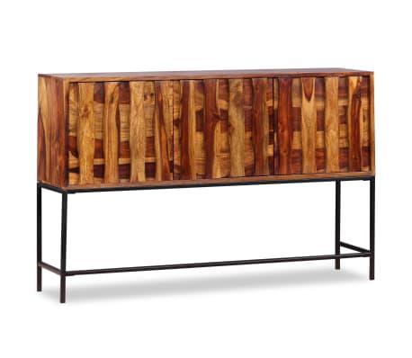 vidaXL Sideboard Sheesham-Holz Massiv 120 x 30 x 80 cm[2/12]