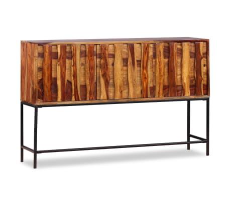 vidaXL Sideboard Sheesham-Holz Massiv 120 x 30 x 80 cm[5/12]