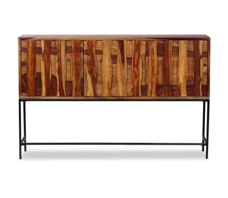 vidaXL Sideboard Sheesham-Holz Massiv 120 x 30 x 80 cm[6/12]
