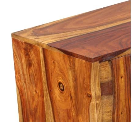 vidaXL Sideboard Sheesham-Holz Massiv 120 x 30 x 80 cm[8/12]