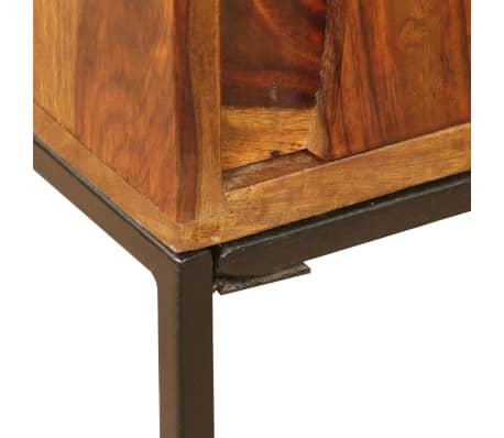 vidaXL Sideboard Sheesham-Holz Massiv 120 x 30 x 80 cm[10/12]