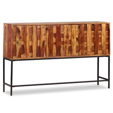 vidaXL Sideboard Sheesham-Holz Massiv 120 x 30 x 80 cm[3/12]