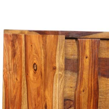 vidaXL Sideboard Sheesham-Holz Massiv 120 x 30 x 80 cm[9/12]