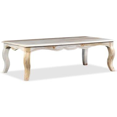 vidaXL Kavos staliukas, rausvosios dalbergijos med., 110x60x35cm[1/9]
