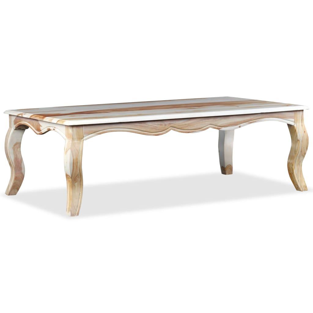 99244346 Couchtisch Sheesham Massivholz 110 x 60 x 35 cm