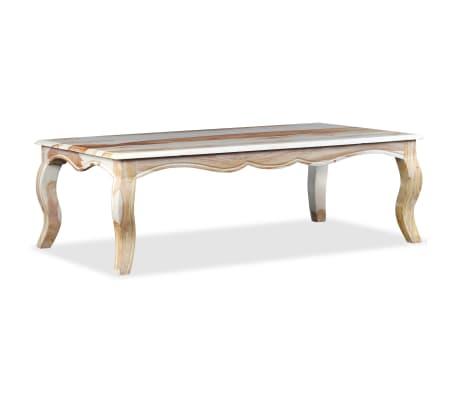 vidaXL Kavos staliukas, rausvosios dalbergijos med., 110x60x35cm[2/9]