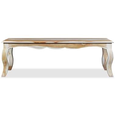 vidaXL Kavos staliukas, rausvosios dalbergijos med., 110x60x35cm[6/9]