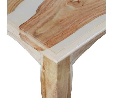 vidaXL Table console et 3 tiroirs Bois de Sesham massif 110x40x76 cm[8/10]