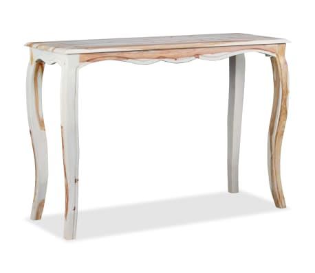 vidaXL Konsolinis staliuk., rausv. dalbergijos med., 110x40x76cm[2/9]