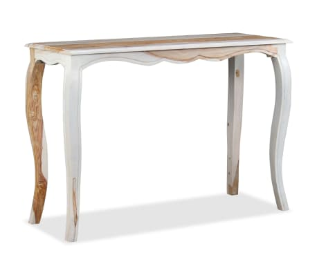 vidaXL Konsolinis staliuk., rausv. dalbergijos med., 110x40x76cm[3/9]