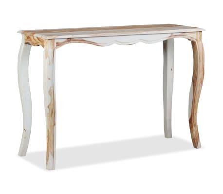 vidaXL Konsolinis staliuk., rausv. dalbergijos med., 110x40x76cm[4/9]