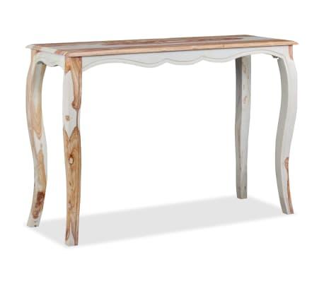 vidaXL Konsolinis staliuk., rausv. dalbergijos med., 110x40x76cm[5/9]