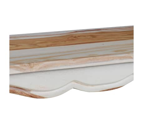 vidaXL Konsolinis staliuk., rausv. dalbergijos med., 110x40x76cm[7/9]