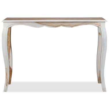 vidaXL Konsolinis staliuk., rausv. dalbergijos med., 110x40x76cm[6/9]