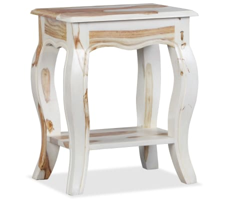vidaXL Noptieră din lemn masiv de sheesham, 40 x 30 x 50 cm[6/10]