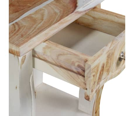 vidaXL Noptieră din lemn masiv de sheesham, 40 x 30 x 50 cm[8/10]