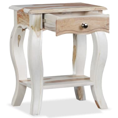 vidaXL Noptieră din lemn masiv de sheesham, 40 x 30 x 50 cm[7/10]