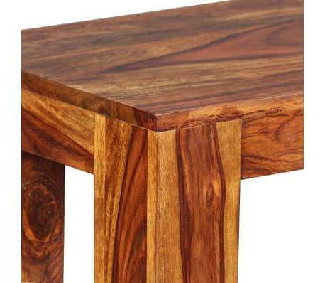 vidaXL Suoliukas, masyvi rausvoji dalbergijos mediena, 110x35x45cm[7/10]