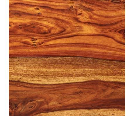 vidaXL Suoliukas, masyvi rausvoji dalbergijos mediena, 110x35x45cm[9/10]