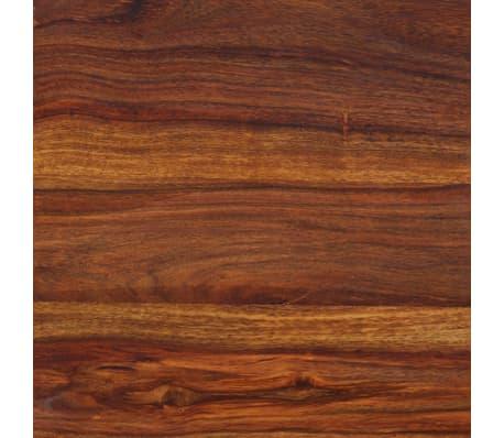 vidaXL Karališkas suoliukas, raus. dalbergijos mediena, 110x35x45cm[9/10]