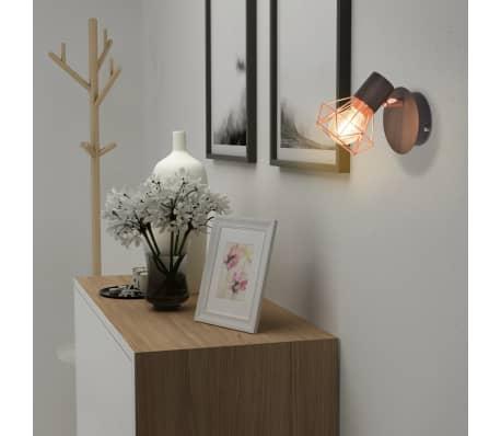 vidaXL Lámparas de pared 2 uds. con 2 bombillas de filamentos LED 8 W[2/12]