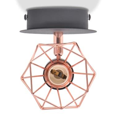 vidaXL Lámparas de pared 2 uds. con 2 bombillas de filamentos LED 8 W[5/12]
