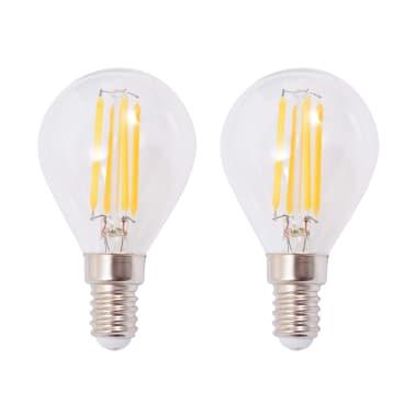 vidaXL Lámparas de pared 2 uds. con 2 bombillas de filamentos LED 8 W[9/12]