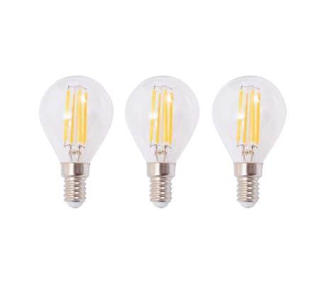 vidaXL Plafoniera con 3 Lampadine LED a Incandescenza 12 W[6/9]